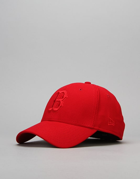 New Era MLB Boston Red Sox Stretch Diamond Core Cap - Scarlet