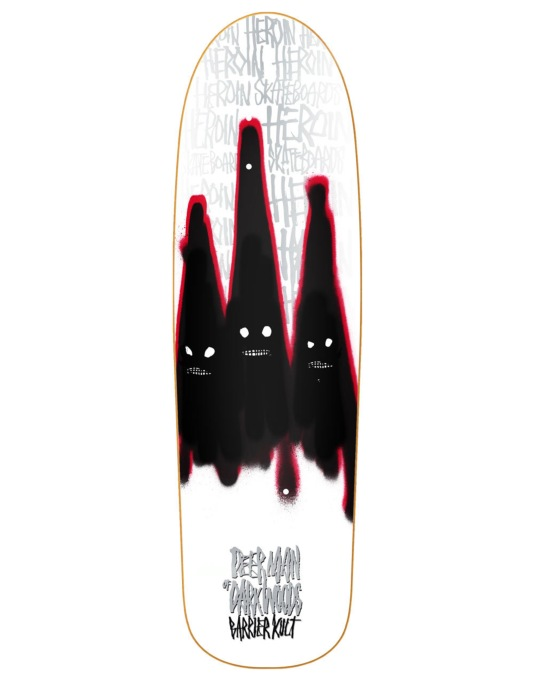 Heroin Deer Man of Dark Woods Ghosts Pro Deck - 9.5""