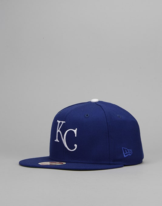 New Era MLB Kansas City Royals 1980 Heritage 59Fifty Fitted Cap - Blue