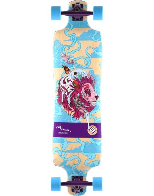 "Flying Wheels Sky Cat Longboard - 39"" x 9.75"""