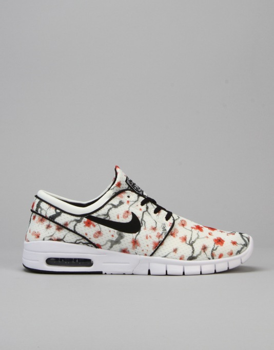 Nike SB Stefan Janoski Max Premium Shoes - Sail/Black-White