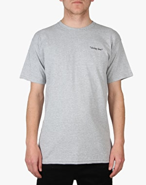 Pass Port Closing Time T-Shirt - Grey