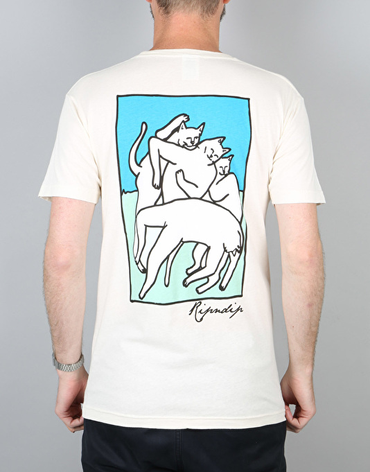 RIPNDIP Nermal Marc T-Shirt - Natural