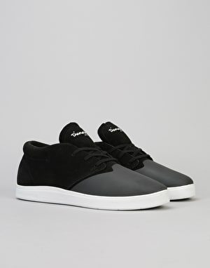 Diamond Supply Co. Deck Skate Shoes - Black Suede