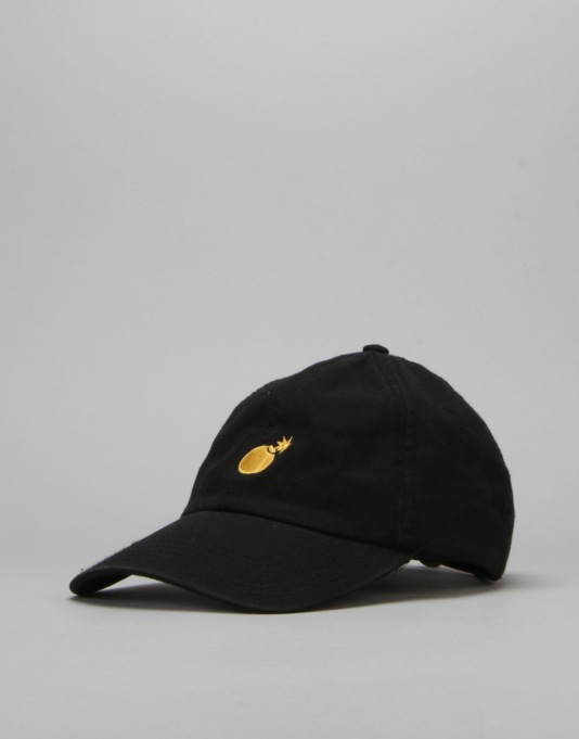 The Hundreds Solid Strapback Cap - Black