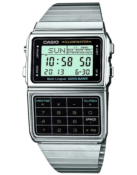 Casio DBC-611E-1EF Watch - Silver