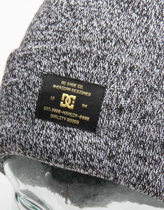 DC Label Beanie - Anthracite