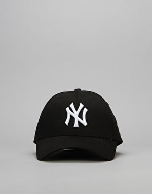 New Era 39Thirty League Basic New York Yankees Cap - Black/White