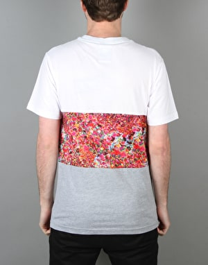 Hype Liberty Middle T-Shirt - White/Grey