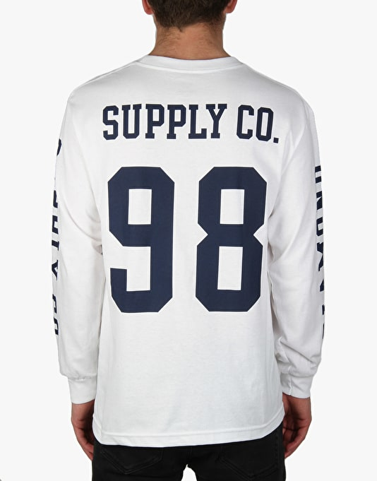 Diamond Nine Eight L/S T-Shirt - White
