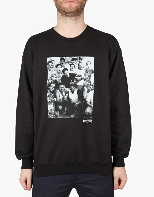 Thrasher Venice Crewneck - Black