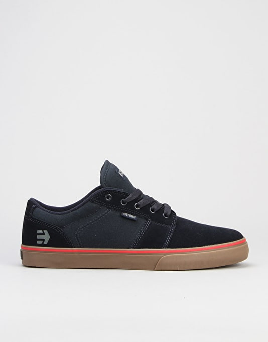 Etnies Barge LS Skate Shoes - Navy/Navy/Gum