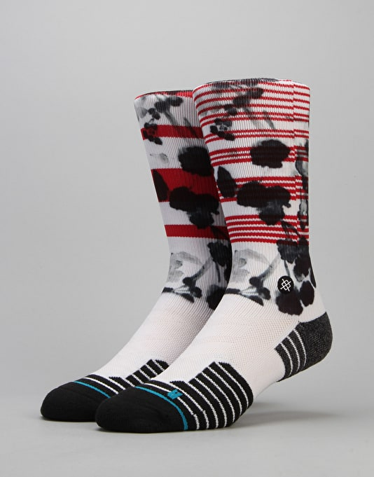 Stance Escapade Fusion Athletic Socks - Red