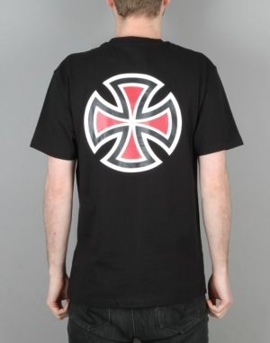 Independent Bar Cross T-Shirt - Black
