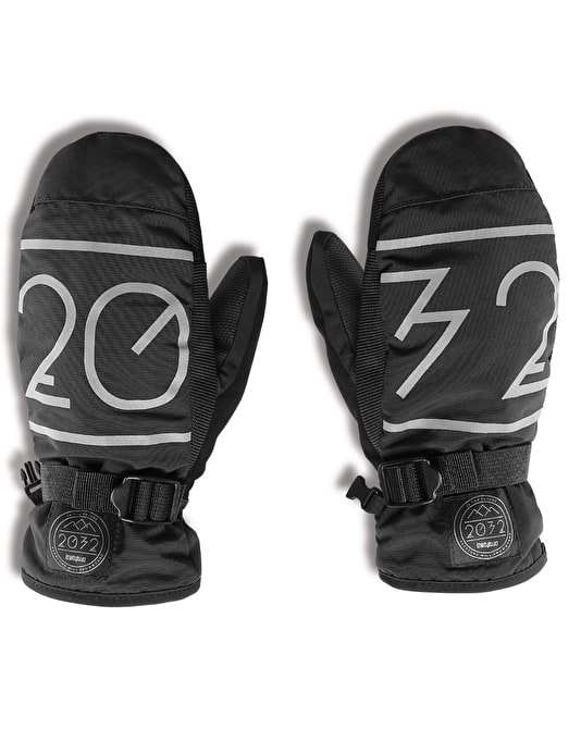 Thirty Two 2032 2016 Snowboard Mitts - Black