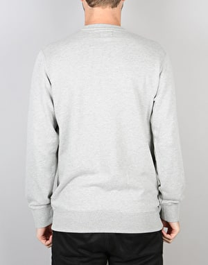 Obey Jumble Bars Crew - Heather Grey