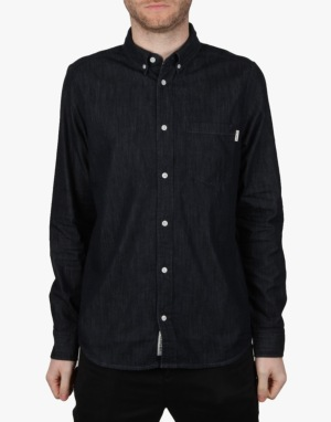 Carhartt Civil L/S Shirt - Blue Rinsed