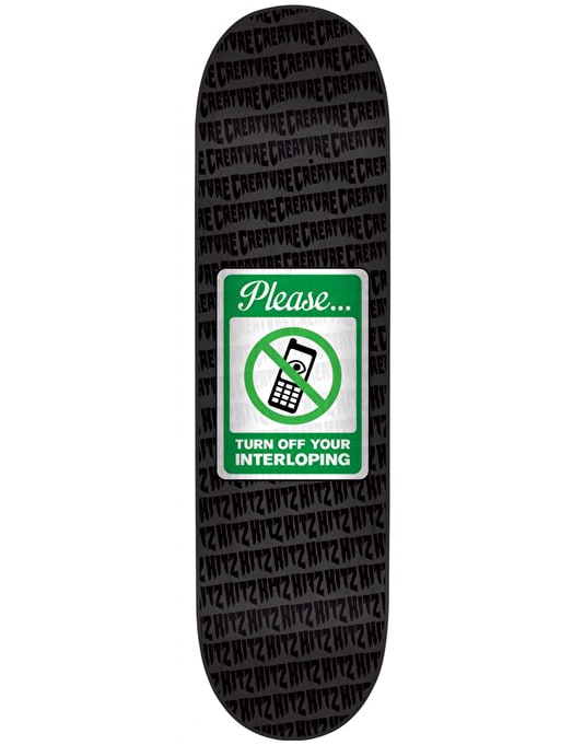 Creature Hitz Interloper Pro Deck - 8.5""