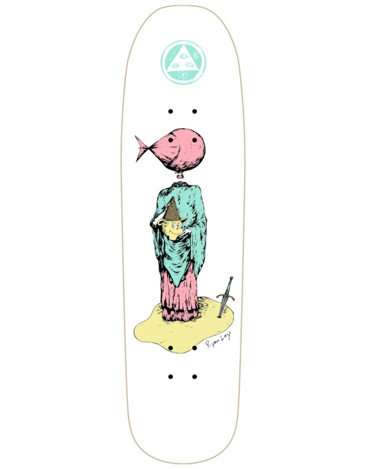 Welcome Lay Light-Headed on Stonecipher Pro Deck - 8.6""