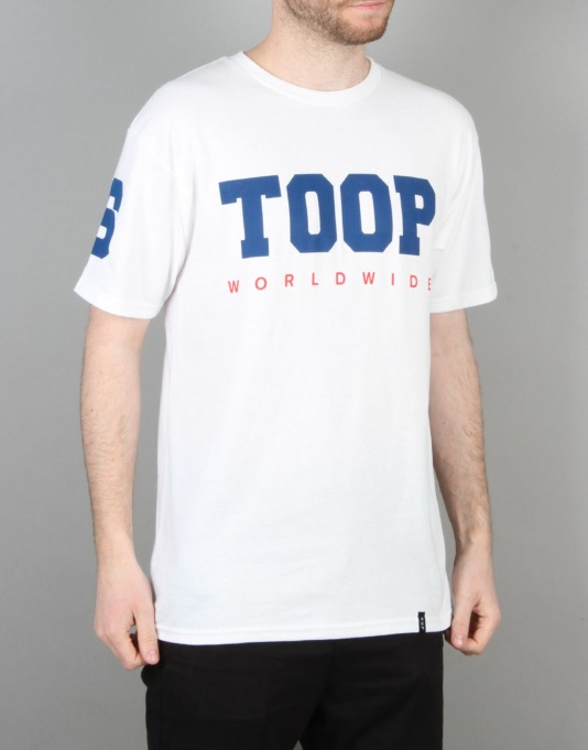 HUF Stoops Worldwide T-Shirt - White