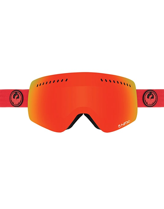 Dragon NFXs 2016 Snowboard Goggles - Bitter/Red Ion
