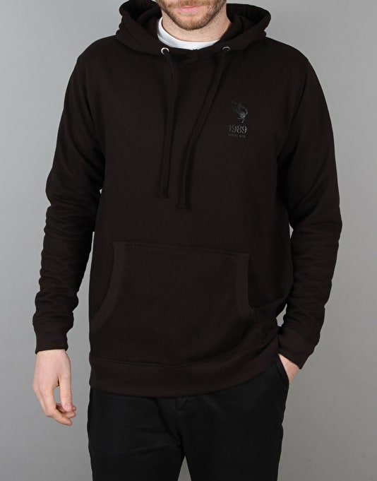 Route One Centaur 'Blackout' Pullover Hoodie - Black