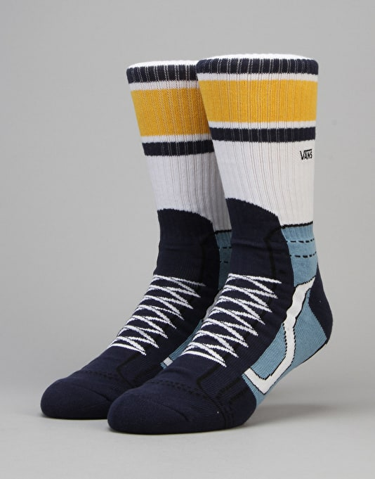 Vans SK8-Hi Crew Socks - Dress Blue