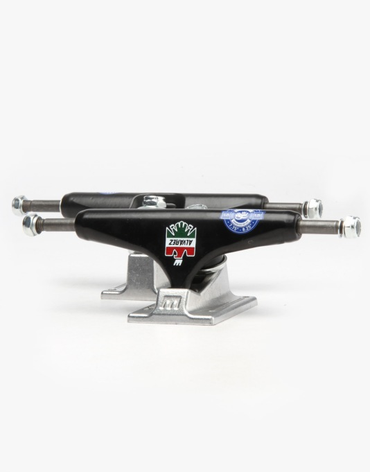 Royal Alvarez 5.25 Standard Pro Trucks - Black/Raw