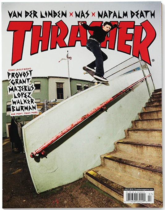 Thrasher Magazine Issue 432 July 2016