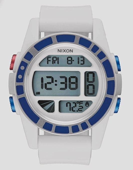 Nixon x Star Wars Unit Watch - R2D2 White
