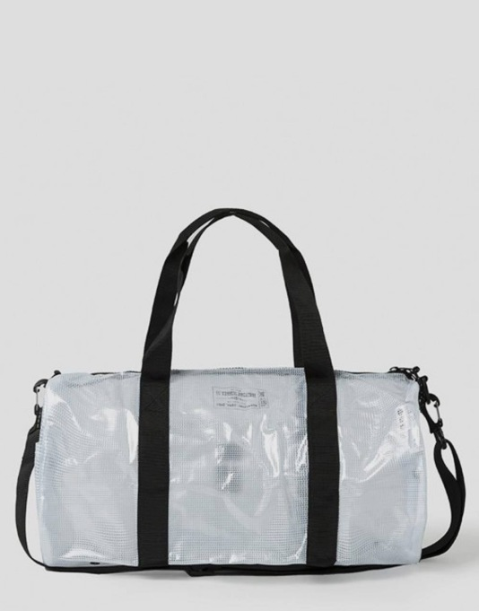 Stüssy x Herschel Supply Co. Tarpaulin Duffel Bag - Clear