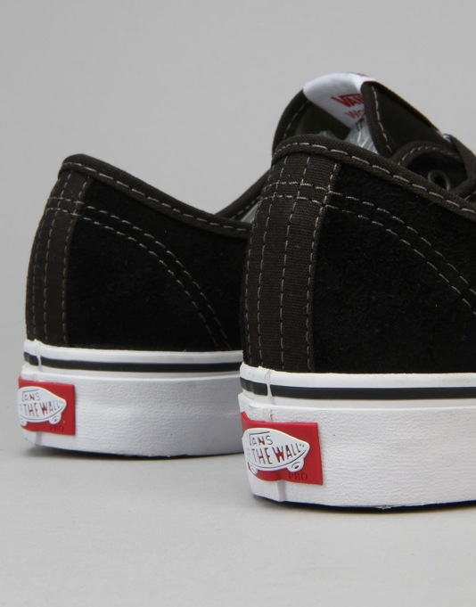 Vans AV Classic Skate Shoes - Black/Olivine