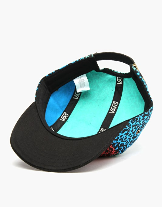 Vans Willa 5 Panel Cap - Black/Multi
