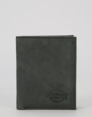 Dickies Ridgeville Leather Wallet - Black