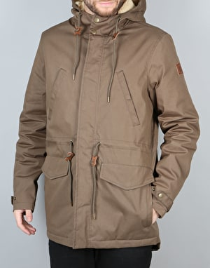 Element Roghan Jacket - Canteen Green