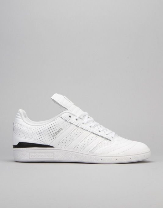 Adidas Busenitz Pro Classified Skate Shoes - White Black Silver Met ... feff90f80
