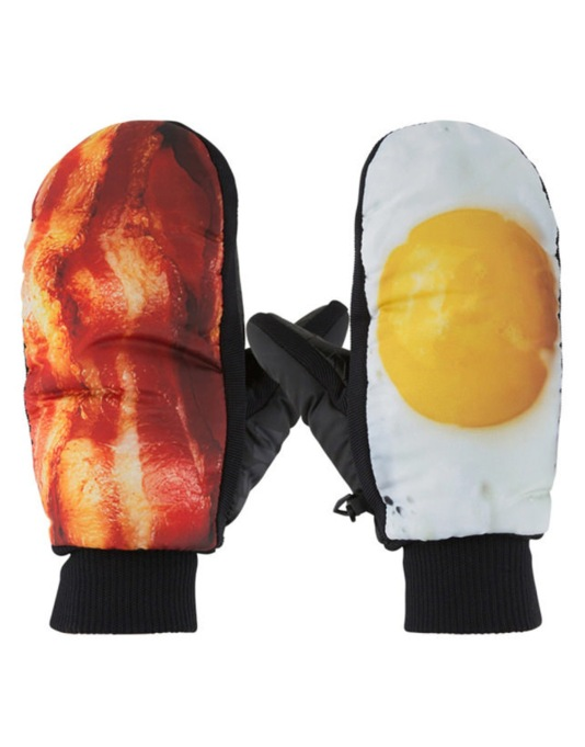 Neff Character 2016 Snowboard Mitts - Breakfast