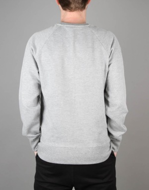 Scarred For Life Balloon Sweatshirt - Heather Grey