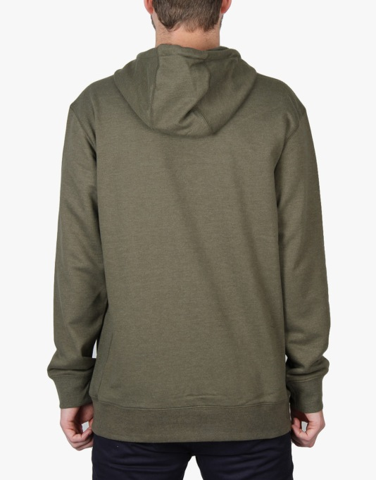 Burton Roe 2016 Snowboard Pullover Hoodie - Olive Night Heather