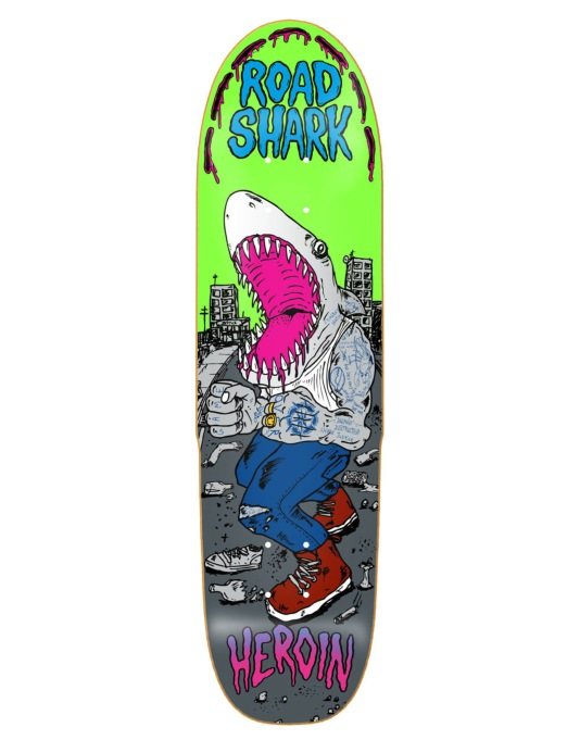 Heroin Road Shark Team Deck - 8.4""