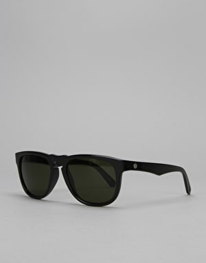 Electric Leadfoot Sunglasses - Gloss Black/Medium Grey