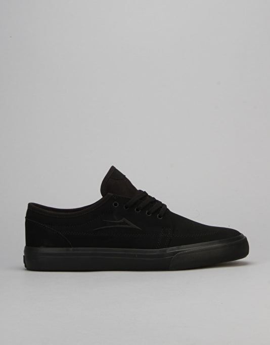 Lakai Madison Skate Shoes - Black/Black Nubuck