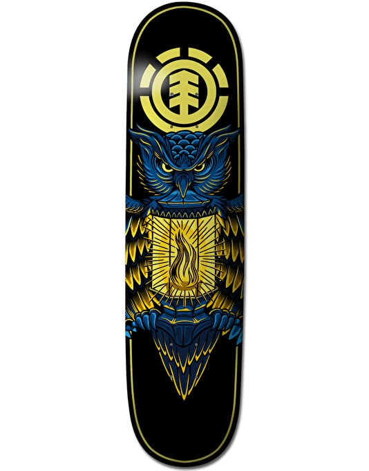 Element Nyjah Night Light Twig Pro Deck - 7.375""