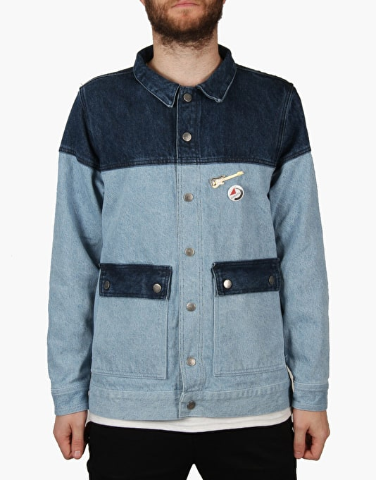 The Hundreds x Back to the Future Marty Jacket - Indigo