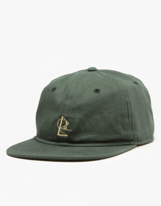 Isle 6 Panel Snapback Cap - Forest/Nugget