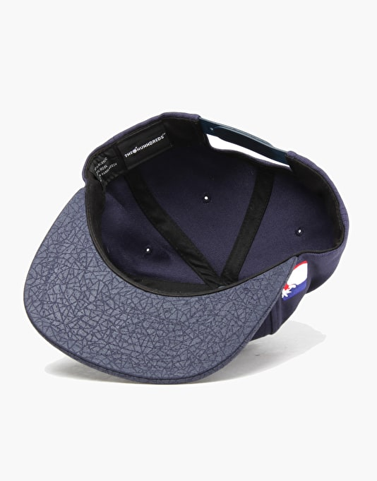 The Hundreds Team Two Snapback Cap - Navy