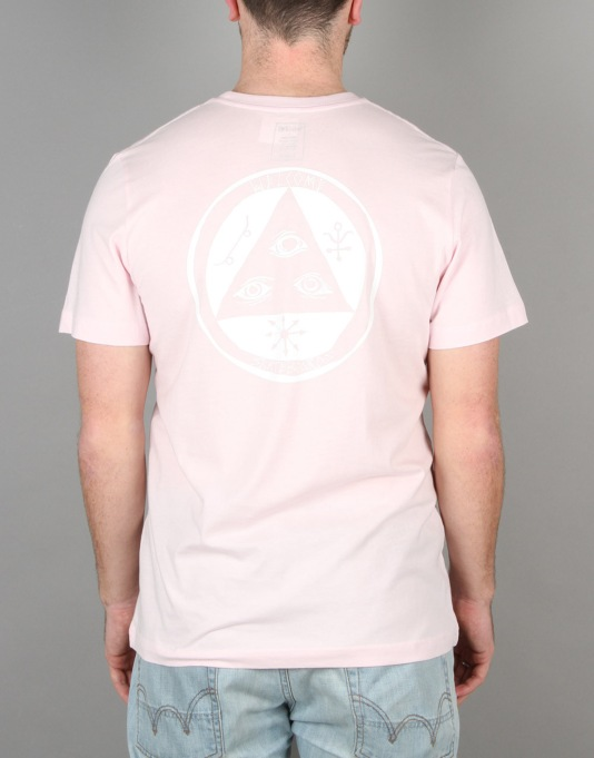 Welcome Talisman T-Shirt - Pink/White