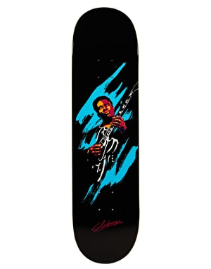 Primitive Skateboarding Salabanzi King of Blues Pro Deck - 8.25