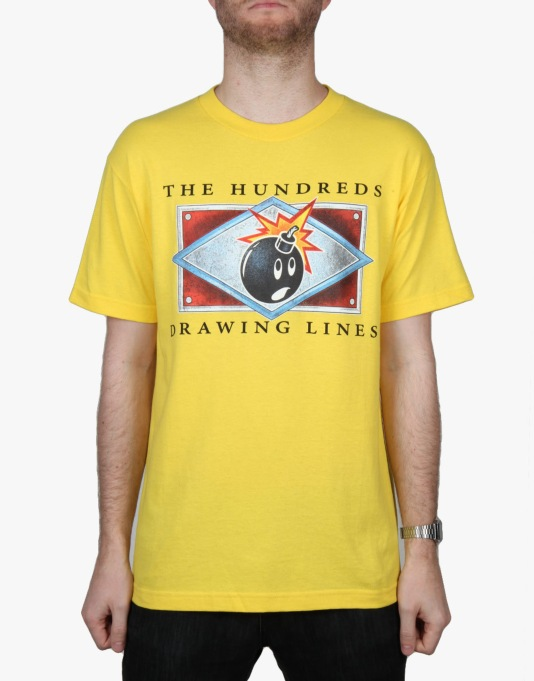 The Hundreds Name Plate T-Shirt - Yellow
