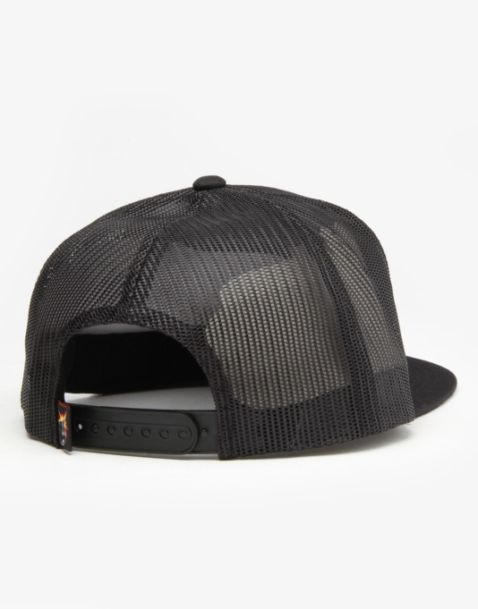 The Hundreds Permit Snapback Cap - Black